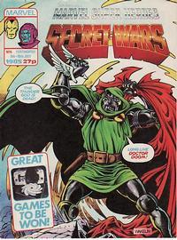 Cover Thumbnail for Marvel Super Heroes Secret Wars (Marvel UK, 1985 series) #6