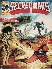 Cover Thumbnail for Marvel Super Heroes Secret Wars (Marvel UK, 1985 series) #13