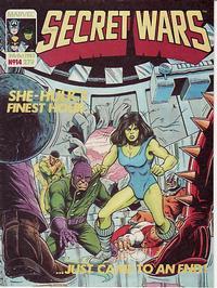 Cover Thumbnail for Marvel Super Heroes Secret Wars (Marvel UK, 1985 series) #14
