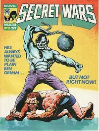 Cover Thumbnail for Marvel Super Heroes Secret Wars (Marvel UK, 1985 series) #15