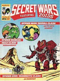 Cover Thumbnail for Marvel Super Heroes Secret Wars (Marvel UK, 1985 series) #25