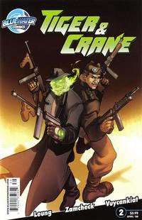 Cover Thumbnail for Tiger and Crane (Bluewater / Storm / Stormfront / Tidalwave, 2008 series) #2