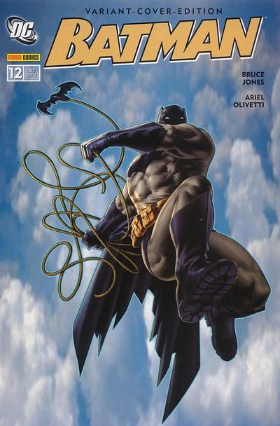 Cover for Batman Sonderband (Panini Deutschland, 2004 series) #12 - Dunkler als der Tod [Comic Action 2007]