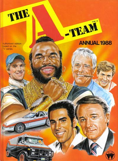 Cover for The A-Team Annual (World Distributors, 1985 series) #1988