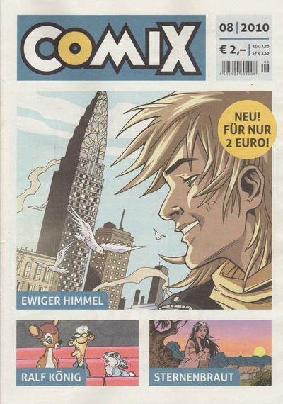 Cover for Comix (JNK, 2010 series) #8/2010
