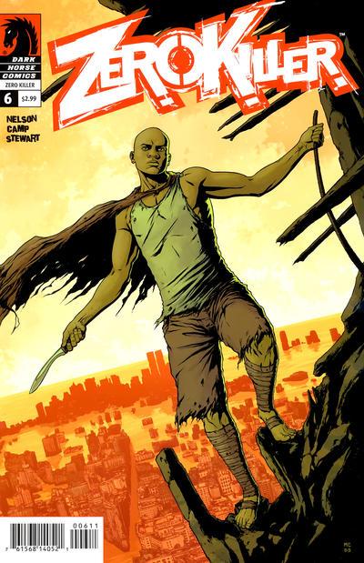 Cover for Zero Killer (Dark Horse, 2007 series) #6