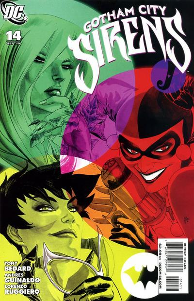 Cover for Gotham City Sirens (DC, 2009 series) #14