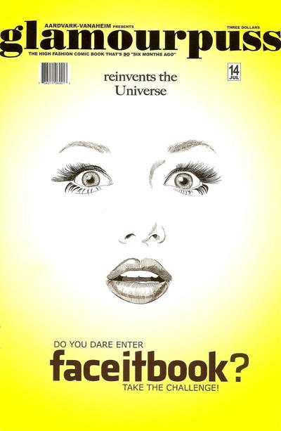 Cover for glamourpuss (Aardvark-Vanaheim, 2008 series) #14