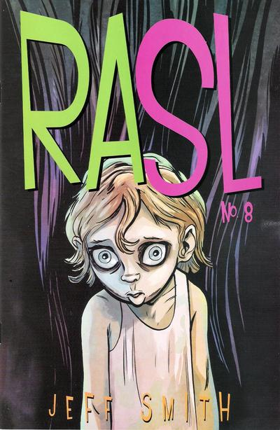 Cover for RASL (Cartoon Books, 2008 series) #8
