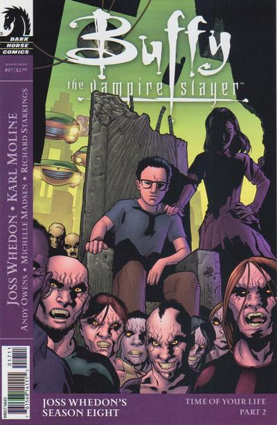 Cover for Buffy the Vampire Slayer Season Eight (Dark Horse, 2007 series) #17 [Georges Jeanty Cover]
