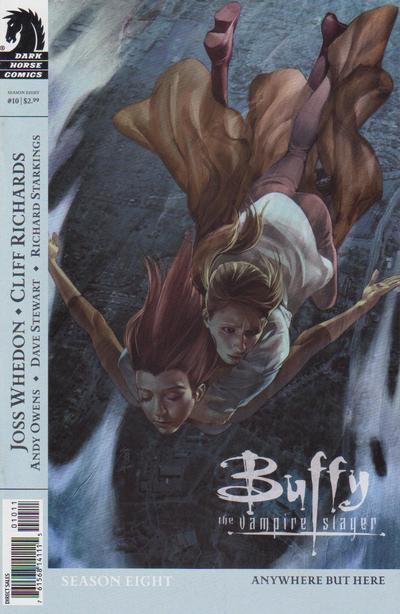 Cover for Buffy the Vampire Slayer Season Eight (Dark Horse, 2007 series) #10