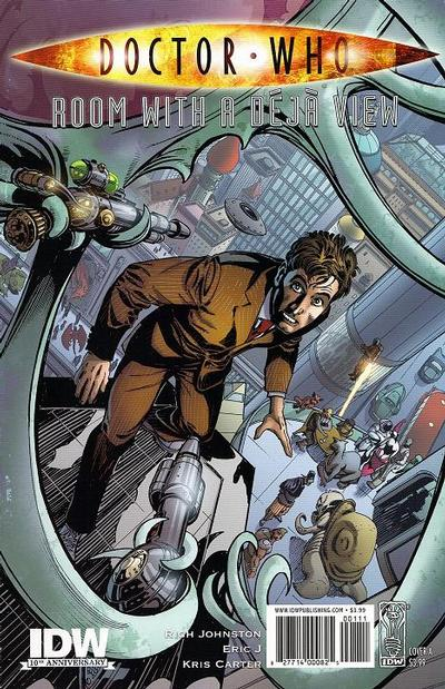 Cover for Doctor Who: Room with a Déjà View (IDW, 2009 series) #[nn] [Cover A]