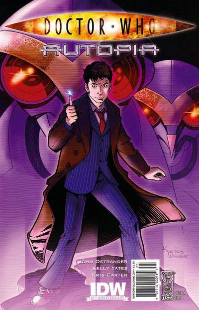 Cover for Doctor Who: Autopia (IDW, 2009 series)  [Cover A]