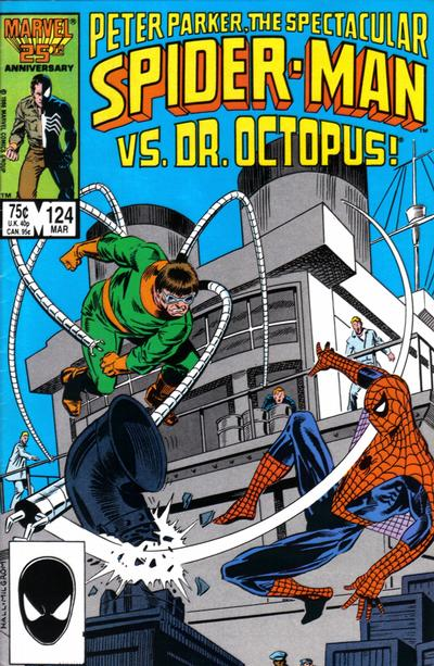 Cover for The Spectacular Spider-Man (Marvel, 1976 series) #124 [newsstand]