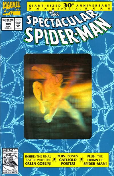 Cover for The Spectacular Spider-Man (Marvel, 1976 series) #189 [direct]