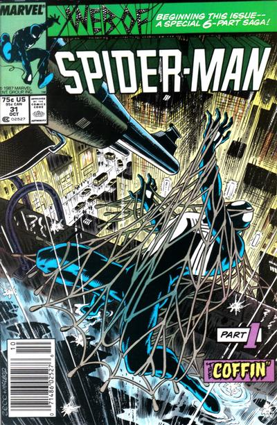 Cover for Web of Spider-Man (Marvel, 1985 series) #31 [Direct]