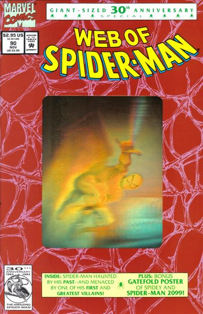 Cover for Web of Spider-Man (Marvel, 1985 series) #90 [Direct]
