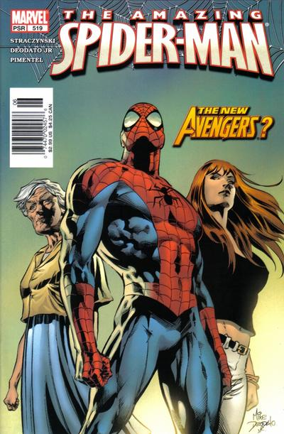 Cover for The Amazing Spider-Man (Marvel, 1999 series) #519 [Direct Edition]