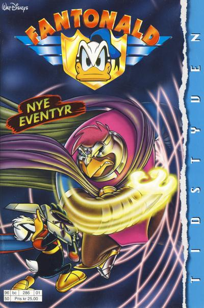 Cover for Fantonald (Hjemmet / Egmont, 1996 series) #[1/1996]