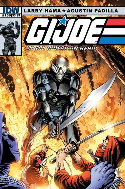 Cover for G.I. Joe: A Real American Hero (IDW, 2010 series) #156 [Cover RI]