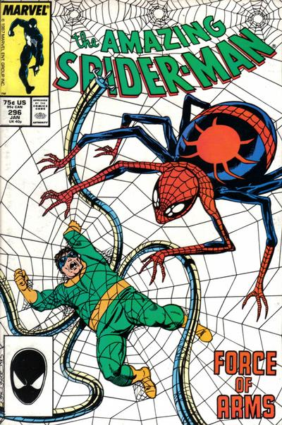 Cover for The Amazing Spider-Man (Marvel, 1963 series) #296 [Direct]