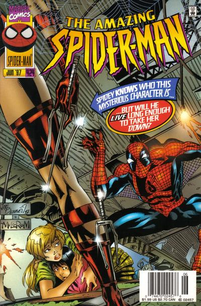 Cover for The Amazing Spider-Man (Marvel, 1963 series) #424 [Direct Edition]