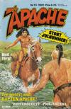 Cover for Apache (Semic, 1980 series) #13/1981