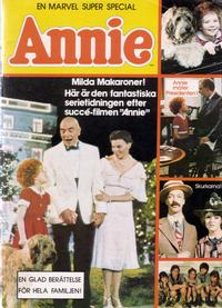 Cover Thumbnail for Annie (Marvel Super Special) (Atlantic Förlags AB, 1982 series)