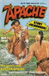 Cover Thumbnail for Apache (Semic, 1980 series) #13/1981