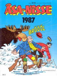 Cover Thumbnail for Åsa-Nisse [julalbum] (Semic, 1963 ? series) #1987