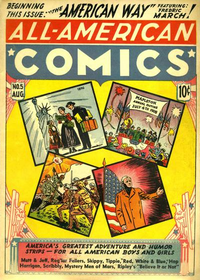 Cover for All-American Comics (DC, 1939 series) #5