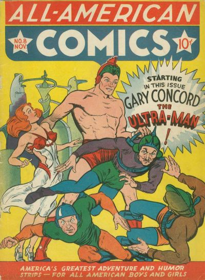 Cover for All-American Comics (DC, 1939 series) #8