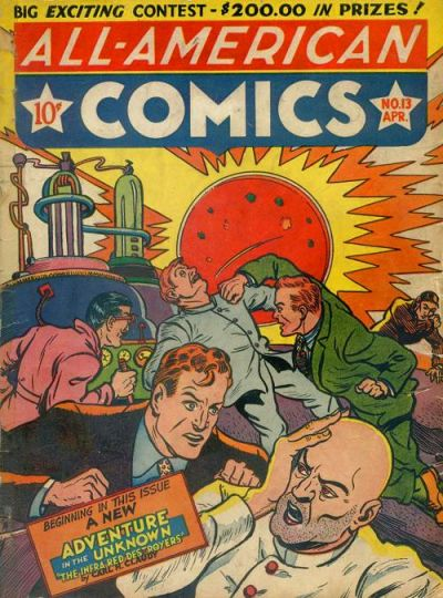 Cover for All-American Comics (DC, 1939 series) #13