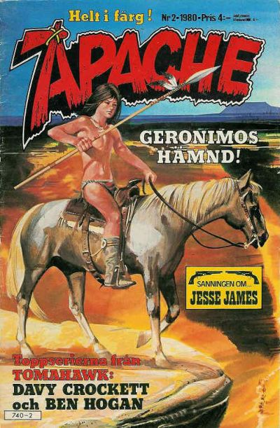 Cover for Apache (Semic, 1980 series) #2/1980
