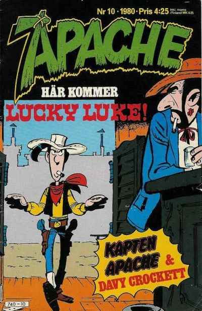 Cover for Apache (Semic, 1980 series) #10/1980
