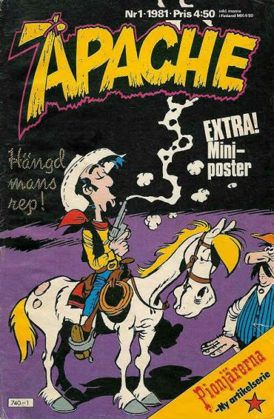 Cover for Apache (Semic, 1980 series) #1/1981