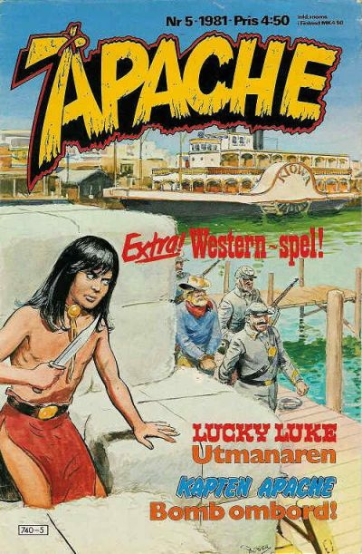 Cover for Apache (Semic, 1980 series) #5/1981