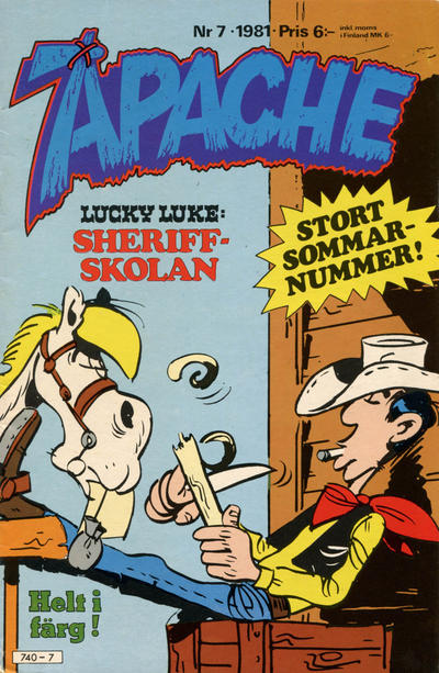 Cover for Apache (Semic, 1980 series) #7/1981
