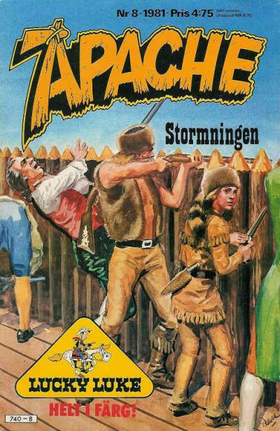 Cover for Apache (Semic, 1980 series) #8/1981
