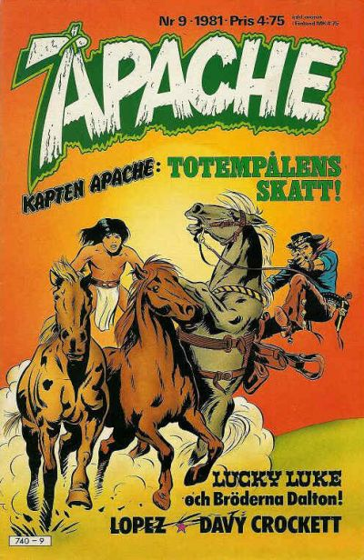 Cover for Apache (Semic, 1980 series) #9/1981