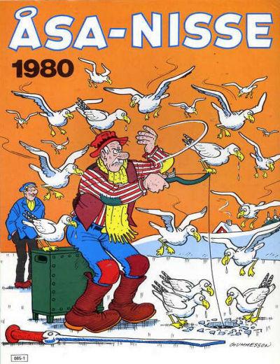 Cover for Åsa-Nisse [julalbum] (Semic, 1963 ? series) #1980