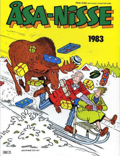 Cover for Åsa-Nisse [julalbum] (Semic, 1963 ? series) #1983