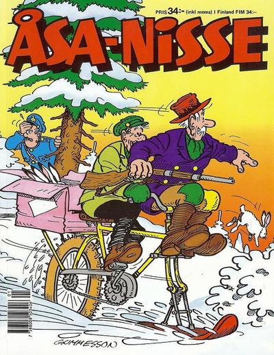 Cover for Åsa-Nisse [julalbum] (Semic, 1963 ? series) #[1990]