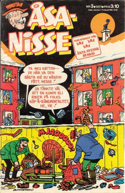 Cover for Åsa-Nisse (Semic, 1975 series) #3/1977