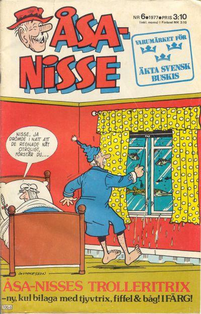 Cover for Åsa-Nisse (Semic, 1975 series) #6/1977