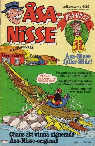 Cover for Åsa-Nisse (Semic, 1975 series) #9/1980