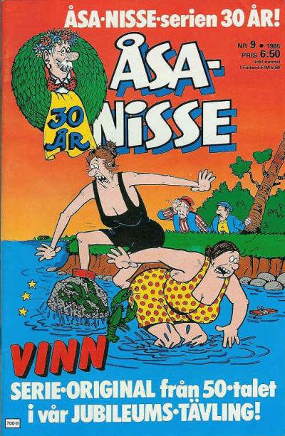 Cover for Åsa-Nisse (Semic, 1975 series) #9/1985