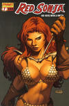 Cover for Red Sonja (Dynamite Entertainment, 2005 series) #7 [Billy Tan Cover]