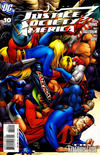 Cover for Justice Society of America (DC, 2007 series) #10 [Dale Eaglesham / Ruy Jose Cover]