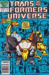 Cover for The Transformers Universe (Marvel, 1986 series) #3 [Newsstand Edition]